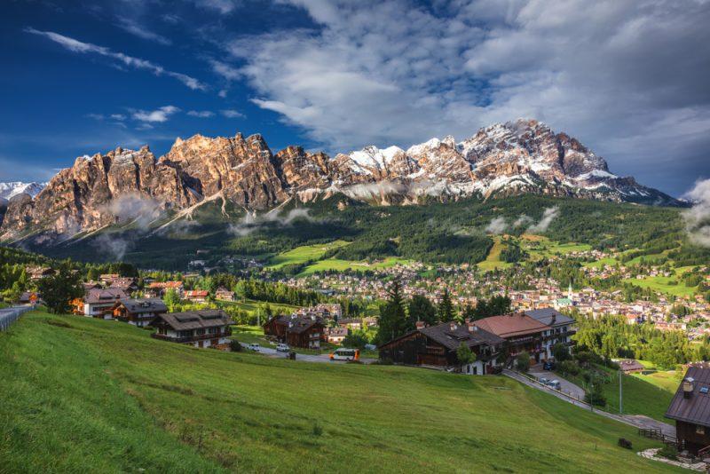 Travel Italy Alps Dolomiti Cortina