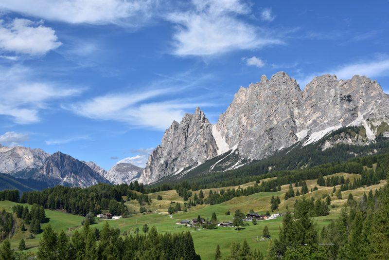 Italy Mountains Alps Dolomites Travel