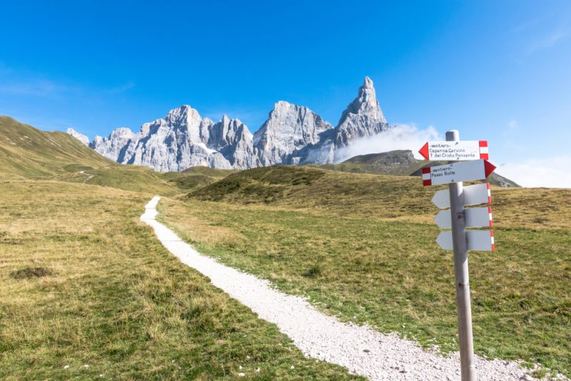 Dolomites Hiking Trekking Italy Travel