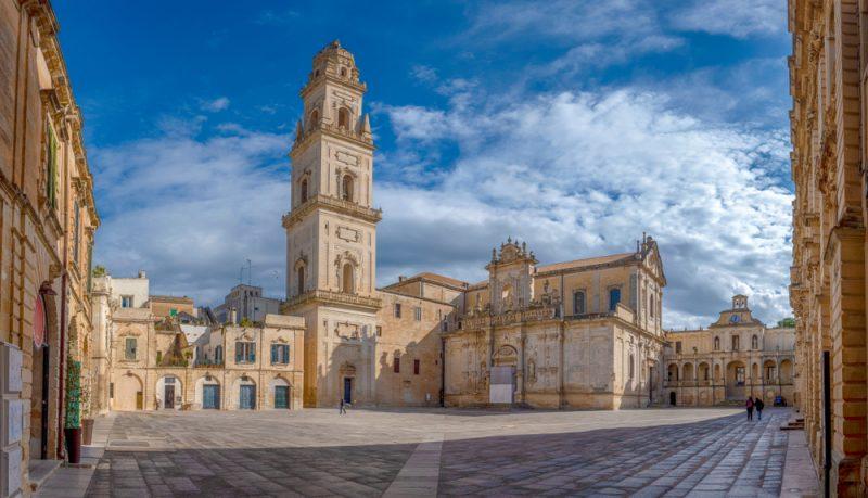 Lecce Duomo Square Italy Travel