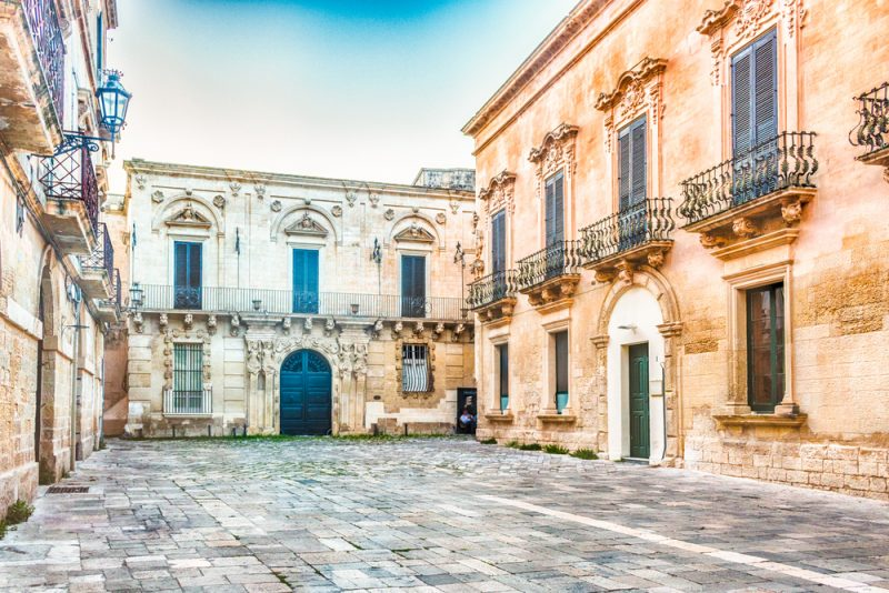 Lecce Italy Travel Art Food