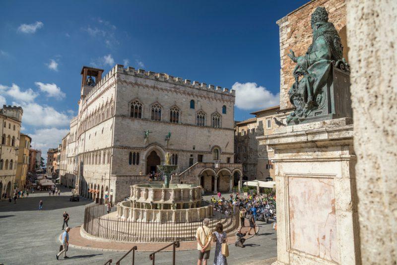 Perugia Italy Umbria Travel Art