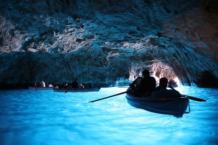 Blue Grotto Capri Travel Italy