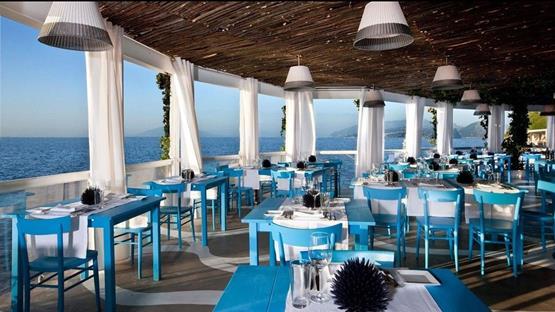 Capri Island Sea Italy Food Restaurant