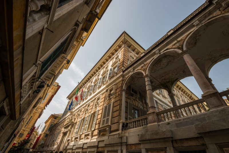 Genoa UNESCO Rolli Palaces Travel Italy