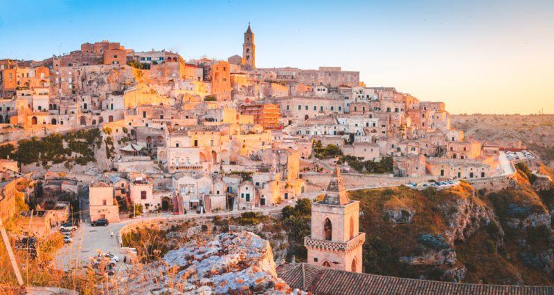 Matera Sassi UNESCO Travel Italy