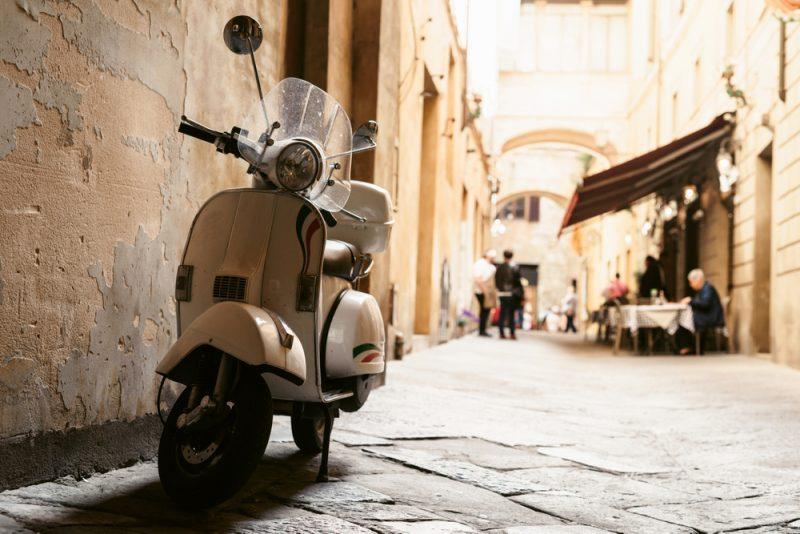 travel Rome vespa tour