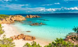 Beach Sardinia Italy Travel Sea