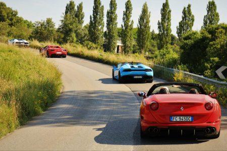 Travel Tuscany Ferrari