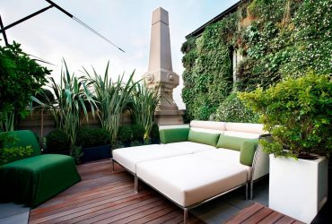 Solarium Rooftop Milan Luxury Travel Italy