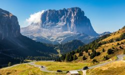 Gardena Pass Dolomites Travel