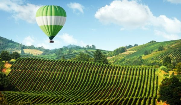 Hot Air Ballon From Florence