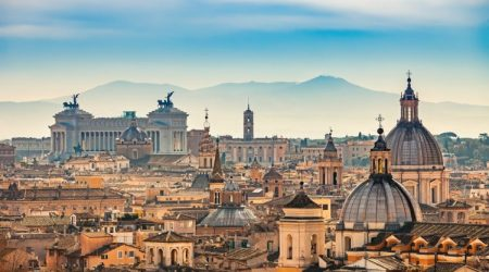 Rome Italy Travel Panoramic View