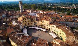 Travel Italy Tuscany Lucca Roman Amphiteatre