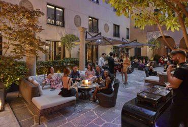 Luxury Aperitif Milan Hotel Italy