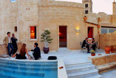 Luxury Travel Pool Bar Italy