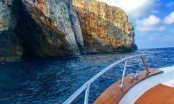 Salento sea boat travel Italy