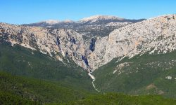 Sardinia Mountain Interior Italy Travel