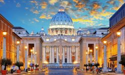 St. Peters Square Rome Vatican Italy Travel