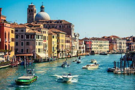 Travel Venice Motor Boat