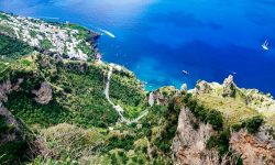 Amalfi Coast Italy Travel Panoramic View