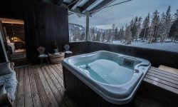 Jcuzzi Relax Snow Chalet Alta Badia Dolomites Travel Italy Luxury