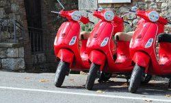 Vespa San Gimignano Travel Italy