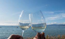 Aperitif Prosecco Lake Garda Italy Travel
