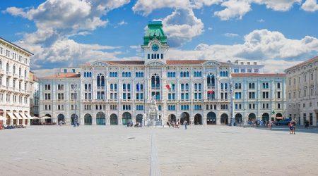 Square Italy Travel Trieste City