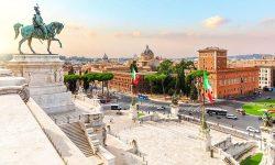 Piazza Venezia Altare Patria Rome Italy Travel