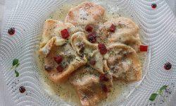 Casunziei Traditional Food Ampezzo Italy Travel