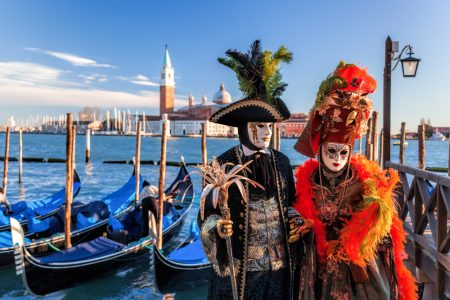 travel Venice Carnival mask